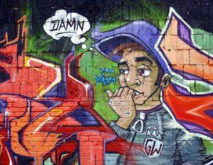 Tableau Street Art à mettre dans son salon
